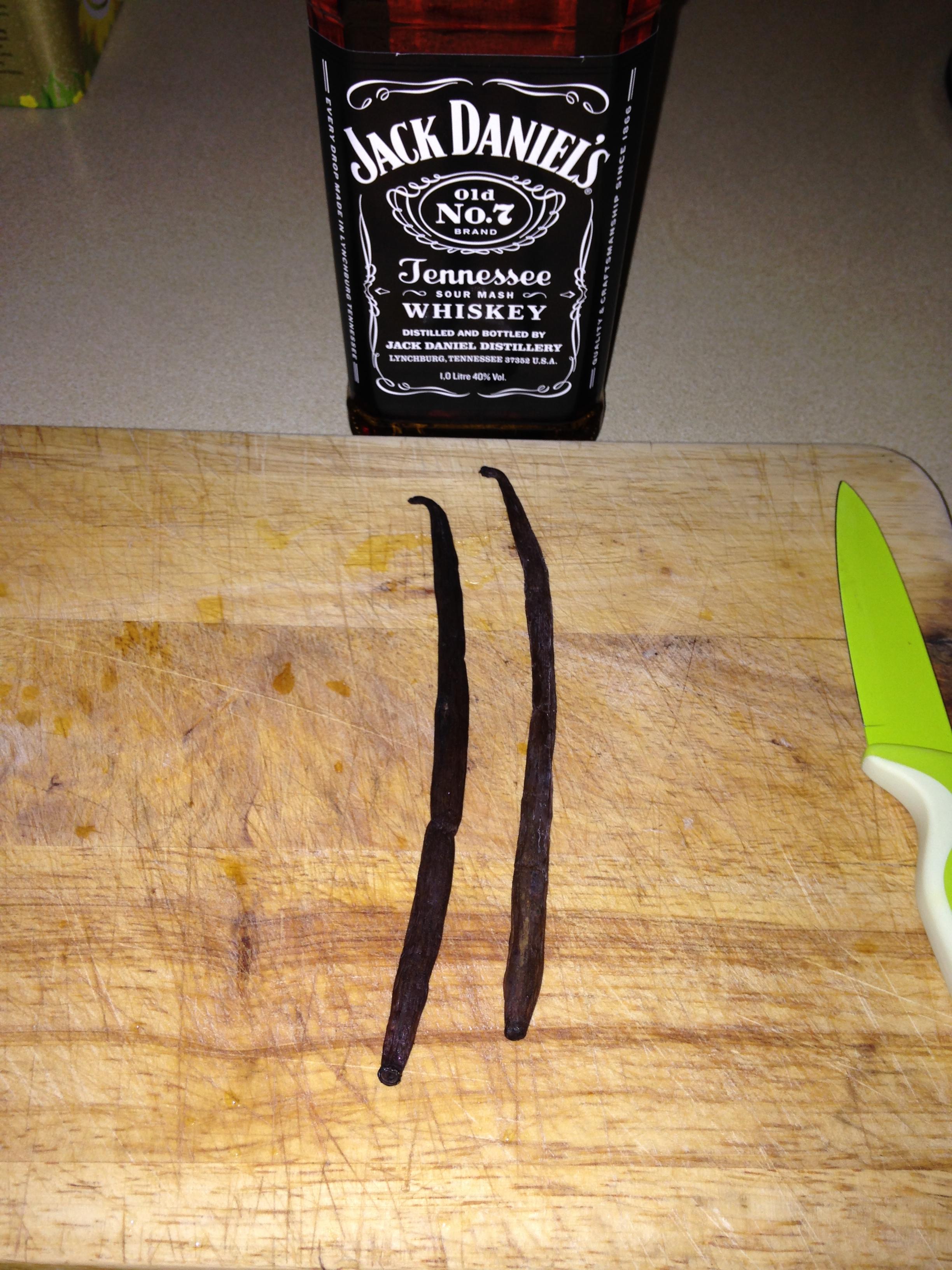 Vanilla Beans and Jack Daniels